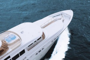 Amore Bay on a Yacht